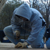 roofing at worksite