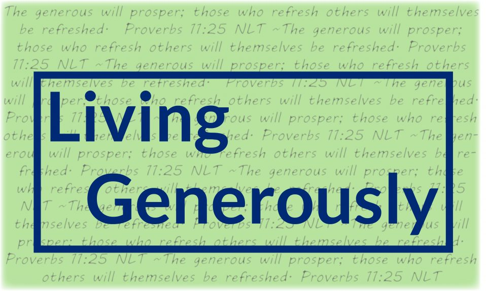 Graduate Level Generosity (Part 2)