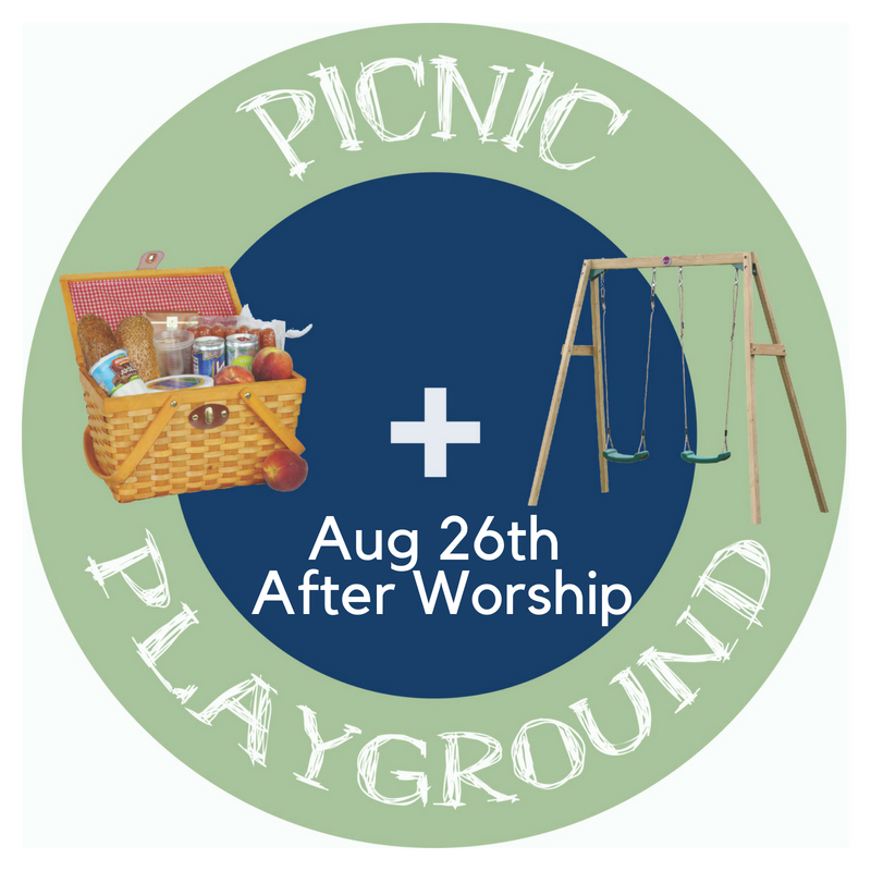 Back To School Picnic + Playground Aug 26th