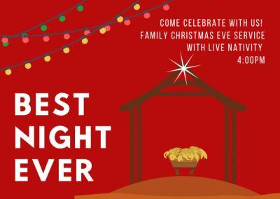 Christmas Eve Worship for Families