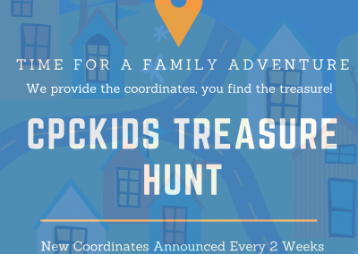 CPCKids Treasure Hunt Continues!