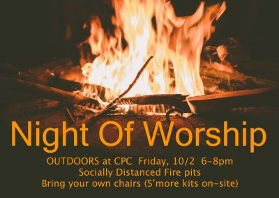 Outdoor Night of Worship