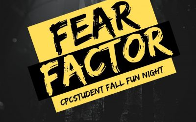 Fear Factor Youth NIGHT! Bring a friend!