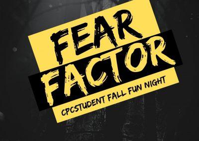 Fear Factor Youth NIGHT! Bring a friend!