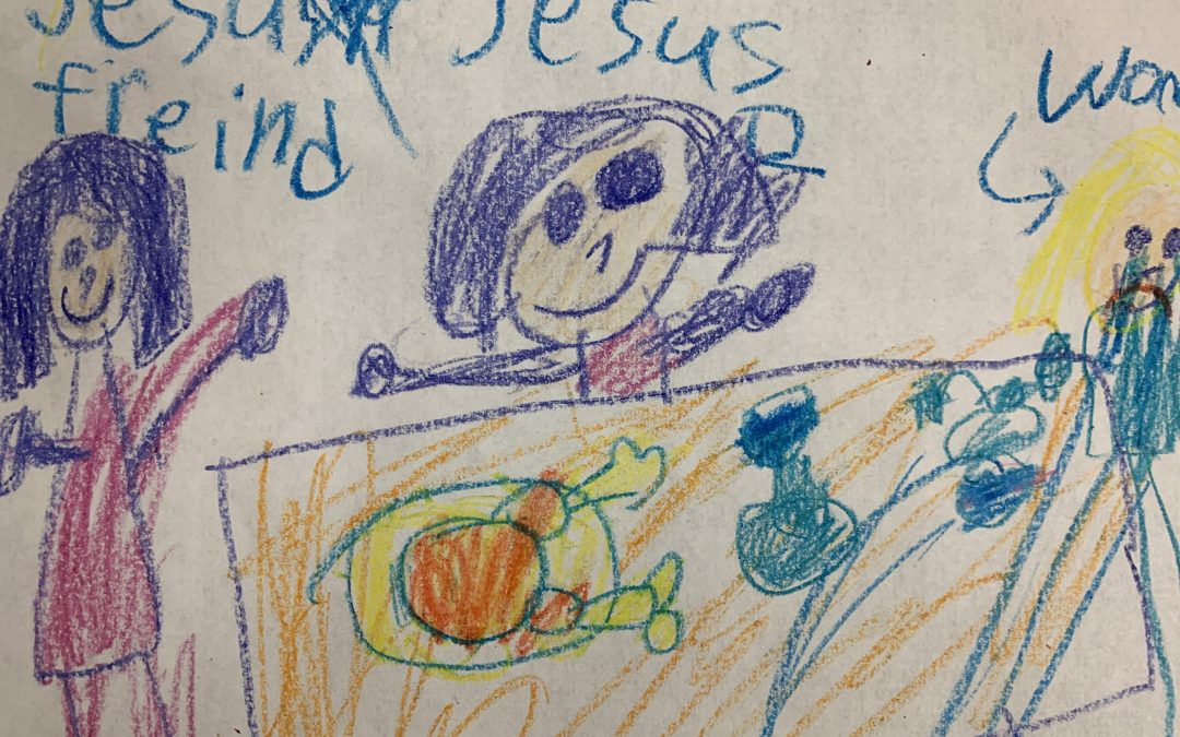 A Sermon from a Child's View