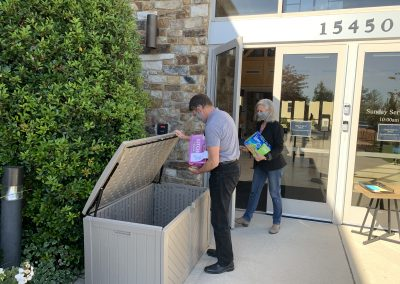 Paper Product PLUS Drive for Lamb Center