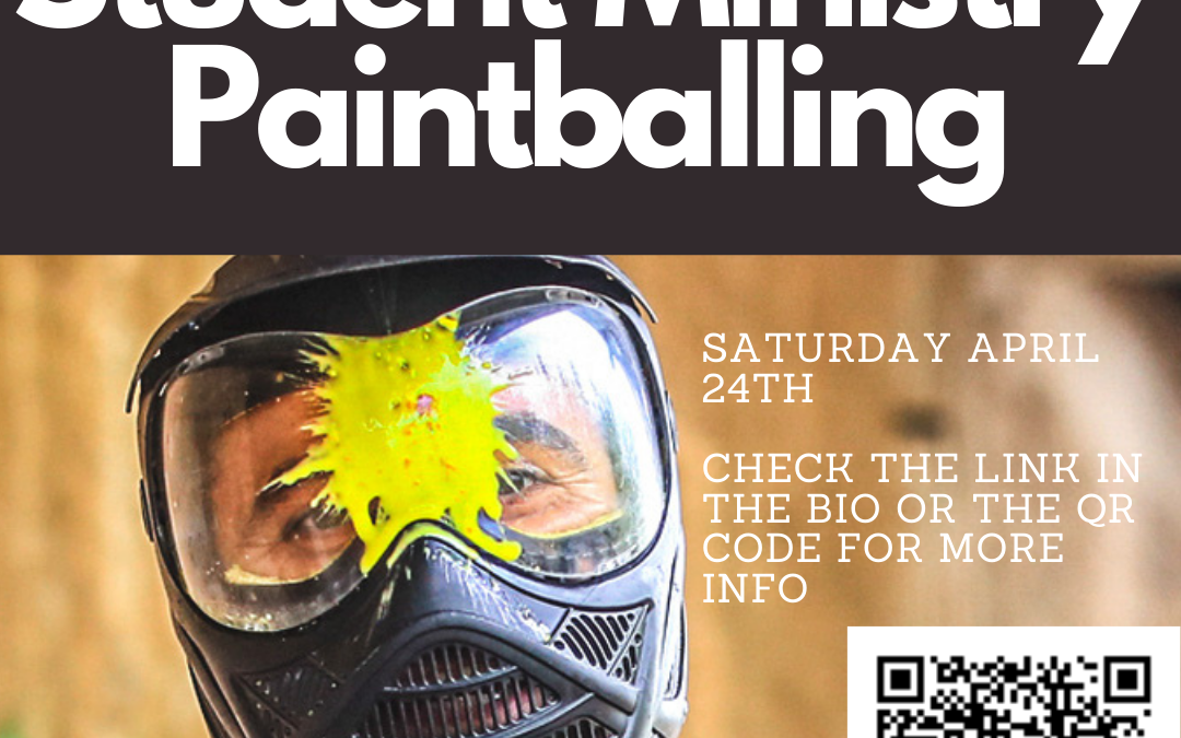 Student Ministry Paintballing