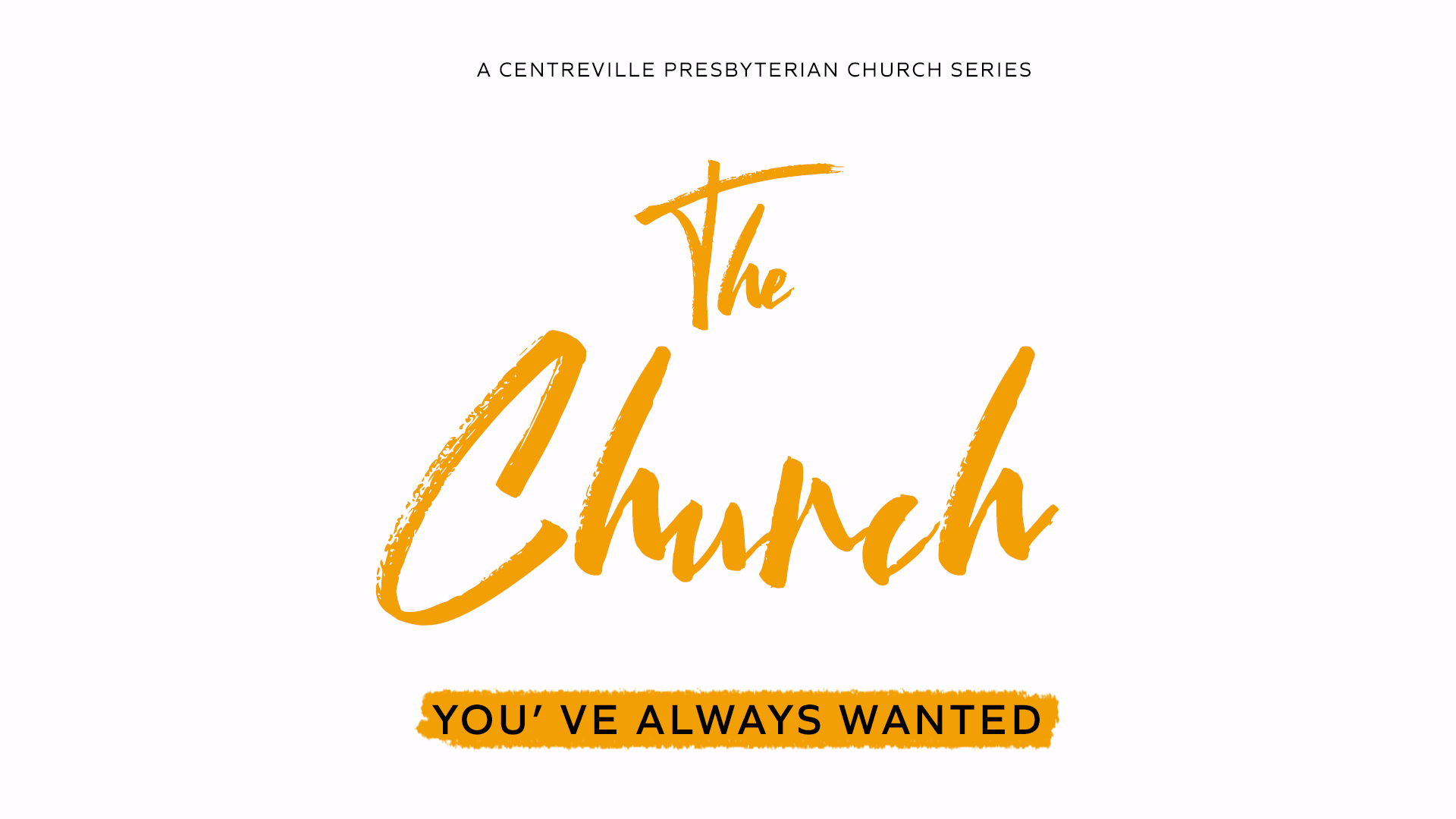 The Church You Always Wanted: Where People Belong and are Transformed